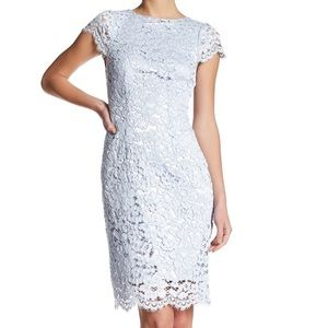 ERIN Fetherston Lucienne Lace Sheath Dress 8